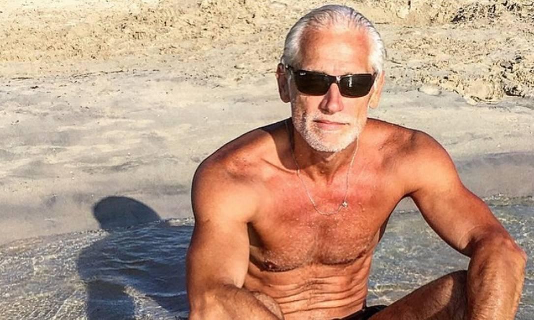 Jorge Gelati: 53 anos e disputado na moda Foto: Reprodução/ Instagram