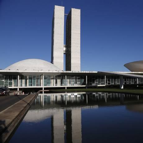 Fachada do Congresso Nacional, em Brasília Foto: Michel Filho/Agência O Globo/27-03-2018