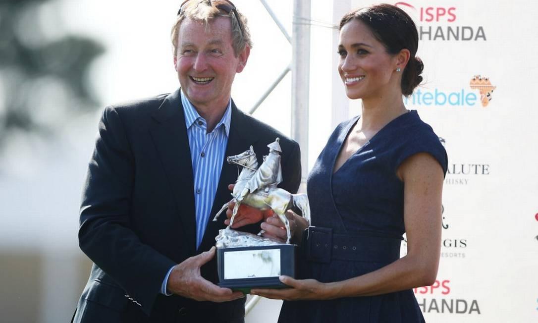 A duquesa foi a responsável por entregar as premiações HANNAH MCKAY / REUTERS