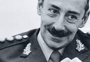 O general argentino Jorge Rafael Videla comandou o golpe militar que resultaria na morte de 10 mil civis, segundo a Comissão Nacional de Pessoas Desaparecidas Foto: Alert/Ullstein Bild Via Getty Images