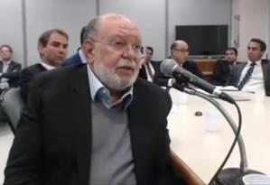 Pinheiro: delação não fica só em Humberto Martins Foto: Reprodução / TV Globo