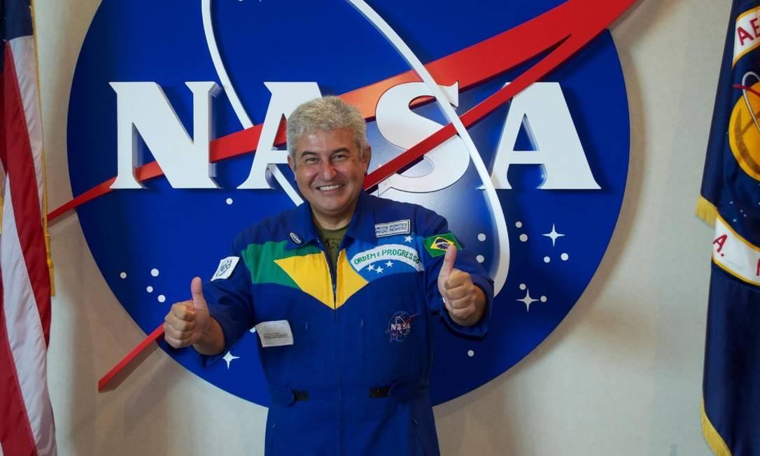 O astronauta Marcos Pontes Foto: Reprodução