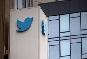 Sede do Twitter em São Francisco. Foto: Justin Sullivan/Getty Images/AFP