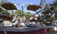 As Cadeiras Voadoras se elevam a cerca de dez metros de altura