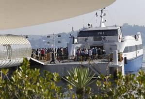 Seletiva: passageiros que embarcam na estação de Charitas, atualmente, desembolsam R$ 16,90 Foto: Fábio Guimarães / Agência O Globo