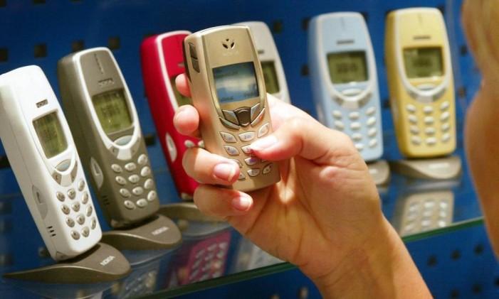 Nokia lidera vendas no mundo Foto: Markku Ulander / O Globo