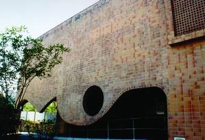 Fachada. A Biblioteca Euclides da Cunha: média de 90 livros doados a cada mês Foto: Divulgação/Eduardo Rocha