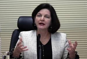 A procuradora-geral da República, Raquel Dodge. Foto: Givaldo Barbosa/Agência O Globo