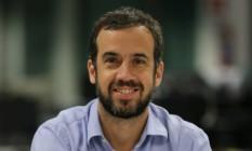 Pedro Dias Leite, editor executivo Foto: Marcelo Theobald / Agência O Globo