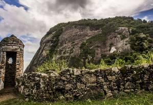 A foto do Forte do Pico feita por Gilson Freitas é uma das que integram a publicação Foto: Gilson Freitas / Divulgação