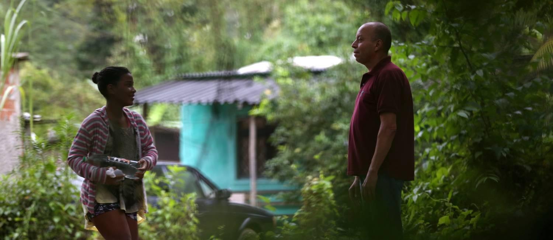 Paulo e sua mulher, no Reservado do Pau da Fome: ambos tiveram leishmaniose Foto: Custódio Coimbra / Agência O Globo