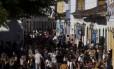 O grande movimento pelas ruas da cidade de Paraty