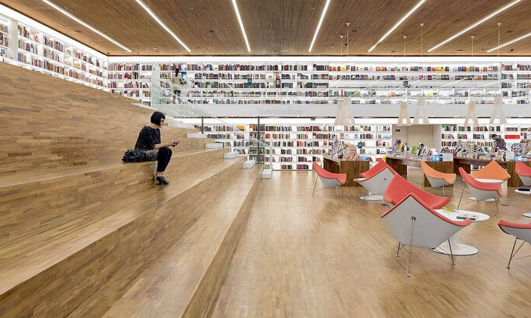 As grandes redes de livrarias têm atualmente quase 1.300 títulos protestados, que somam R$ 38 milhões de pagamentos em atraso Foto: Fernando Guerra / FG+SG