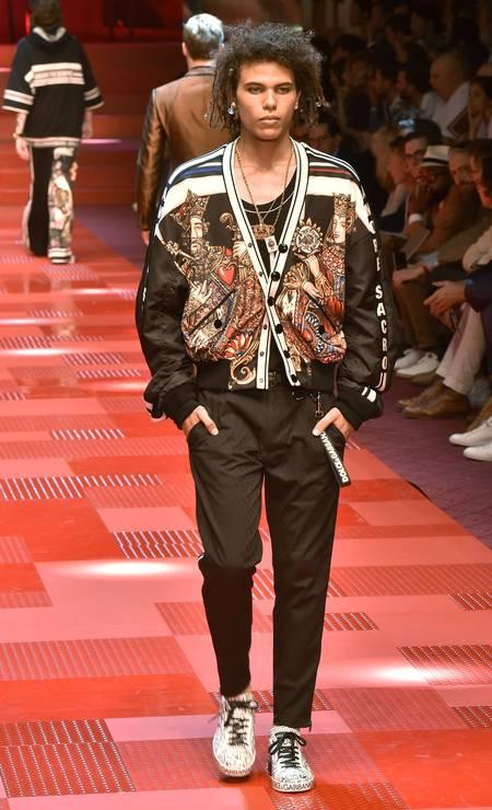 Roberto Rossellini para Dolce & Gabbana Foto: Getty Images