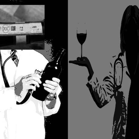 Médicos guardam alguma semelhança com vinhos Foto: Arte