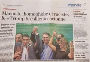 Jornal Tribune de Genève Foto: Reprodução