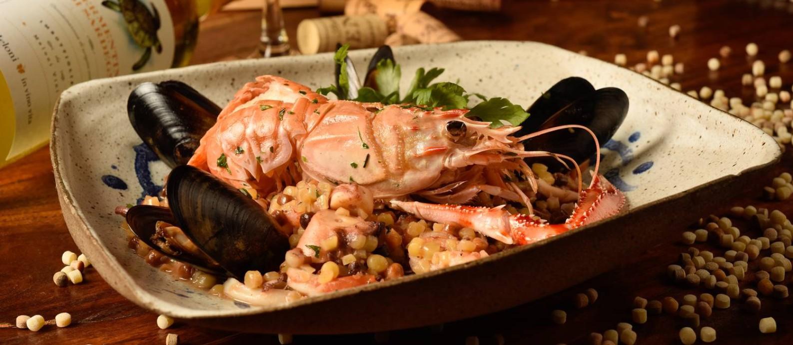 O restaurante a Casa do Sardo é ponto de encontro da turma da moda Foto: Divulgação