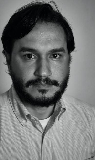 """Felipe Recondo, jornalista do JOTA, na mesa """"Judicialização da política"""" Marcelo Marcelo Saraiva"""