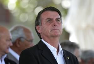 O pré-candidato à Presidência pelo PSL, deputado federal Jair Bolsonaro Foto: Márcio Alves / Agência O Globo