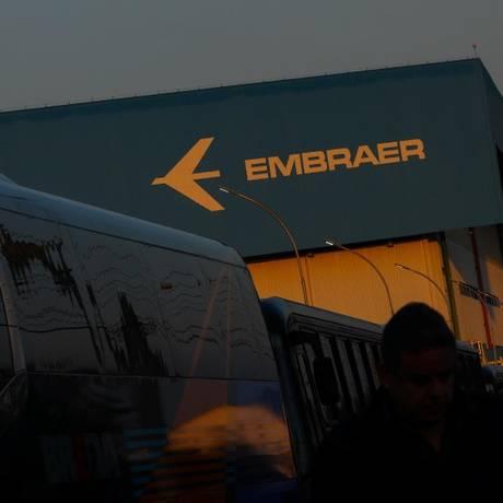 Fábrica da Embraer em São José dos Campos, cidade do estado de São Paulo Foto: Roosevelt Cassio/Reuters