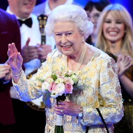 Rainha Elizabeth, em abril de 2018 Foto: WPA Pool / Getty Images