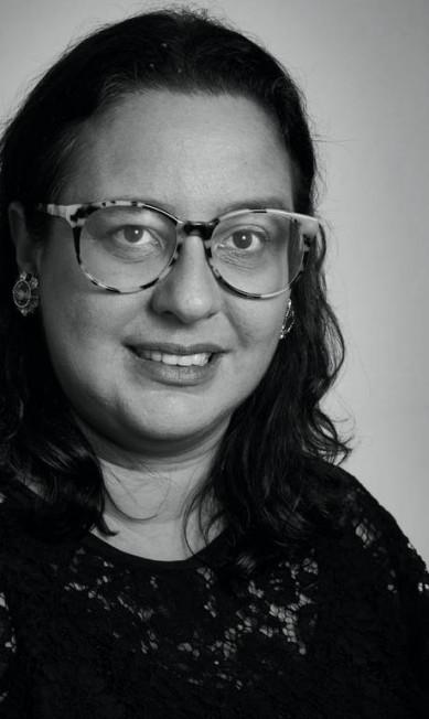 """Silvia Rogar, diretora de Redação da Vogue, na mesa """"O feminino e o feminismo"""" e na mesa """"Por que o jornalismo de moda não é algo frívolo"""" Marcelo Saraiva"""