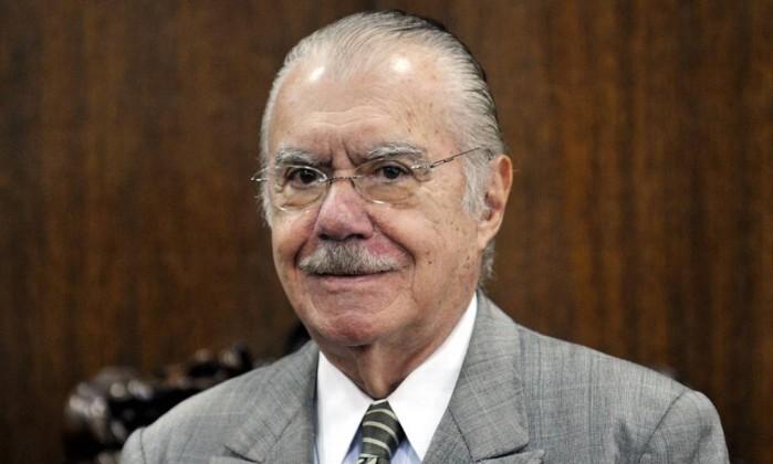 O senador José Sarney Foto: Antonio Cruz / ABr