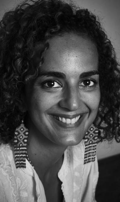 "Leïla Slimani, escritora, na mesa ""Sobre a maldade"" Marcelo Saraiva"