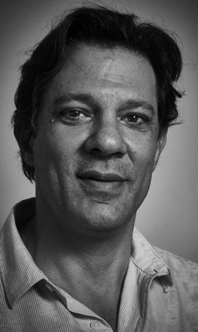 """Fernando Haddad, ex-prefeito de São Paulo, na mesa """"O futuro da esquerda"""" Marcelo Saraiva"""