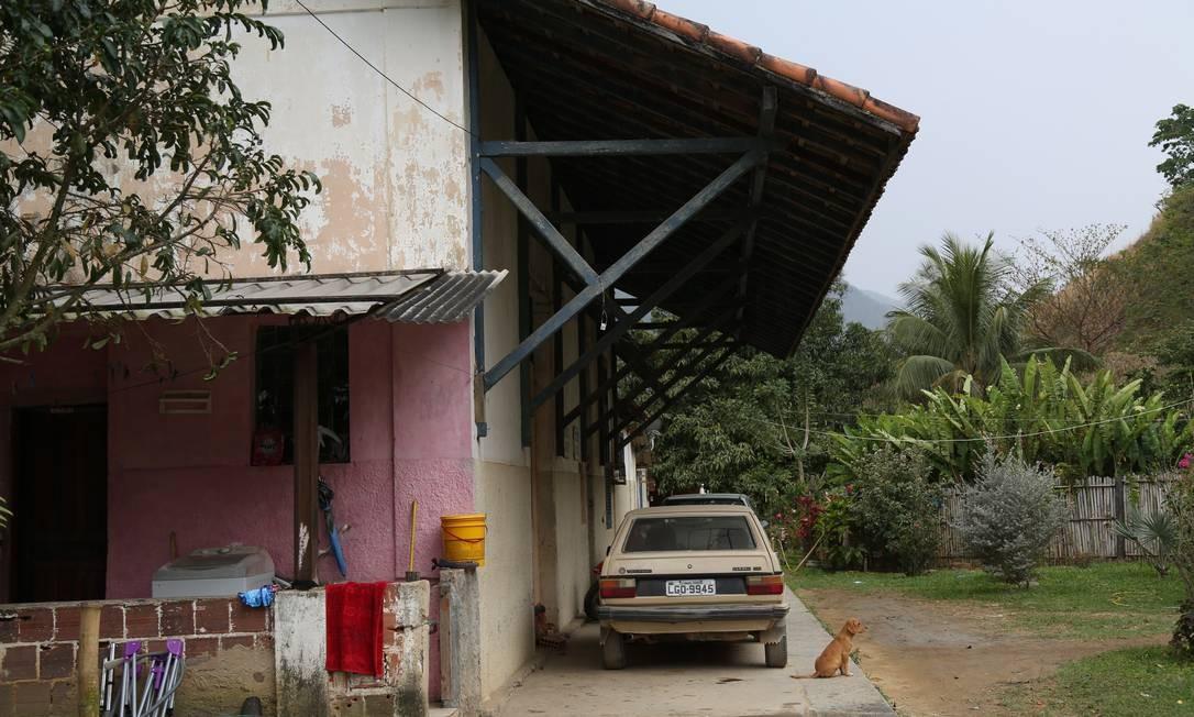 Estação de Vera Cruz ocupada em Miguel Pereira Foto: Custódio Coimbra / Agência O Globo