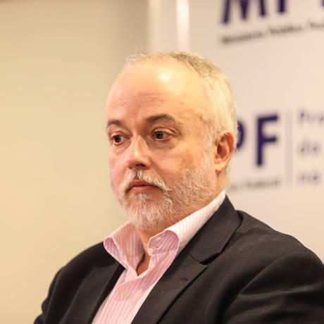 Procurador da República Carlos Fernando dos Santos Lima, em foto de 22/08/2017 Foto: Geraldo Bubniak / Parceiro / Agência O Globo