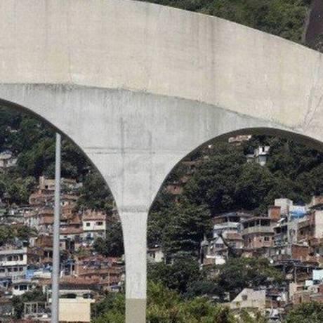 Favela da Rocinha Foto: Marcos de Paula / Agência O Globo