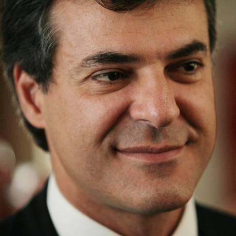 Beto Richa em 2010, durante eleições para o governo do Paraná Foto: Marcos Alves / Agência O Globo