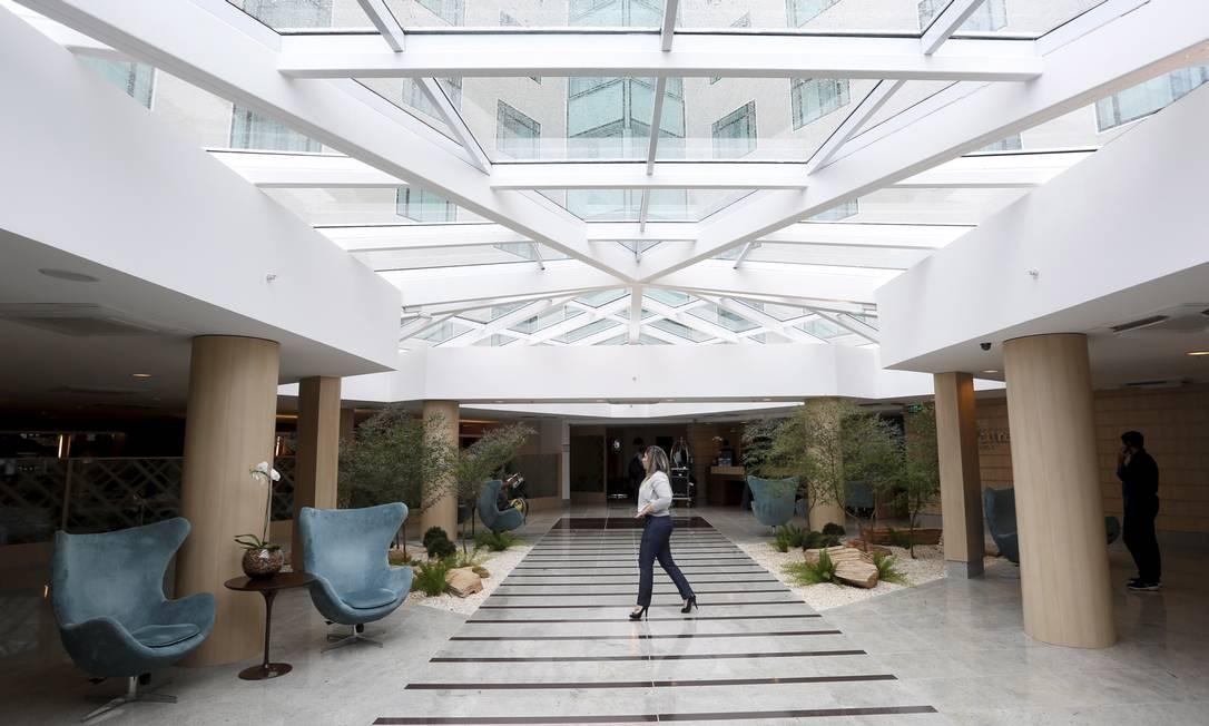 Setor hoteleiro tem hoje mais quartos do que turistas interessados em ocupá-los Foto: Hudson Pontes / Agência O GLOBO