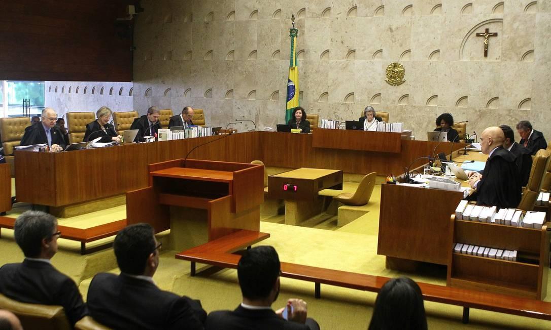 Ministros da Corte se reunirão nesta ssexta, dia 3 de agosto, para discutir descriminalização do aborto Foto: Jorge William / Agência O Globo