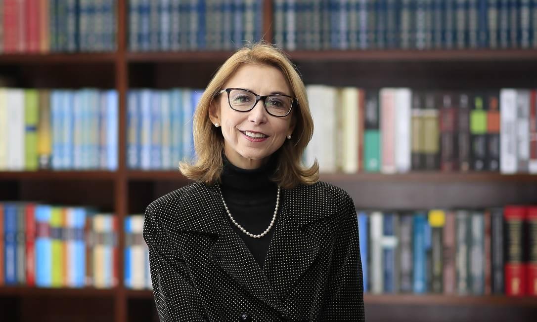 A advogada Angela Gandra Martins se posiciona contra a legalização do aborto Foto: Edilson Dantas / Agência O Globo
