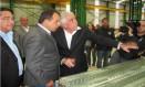 O ex-governador Sérgio Cabral e o empresário Ronald de Carvalho Foto: Reprodução