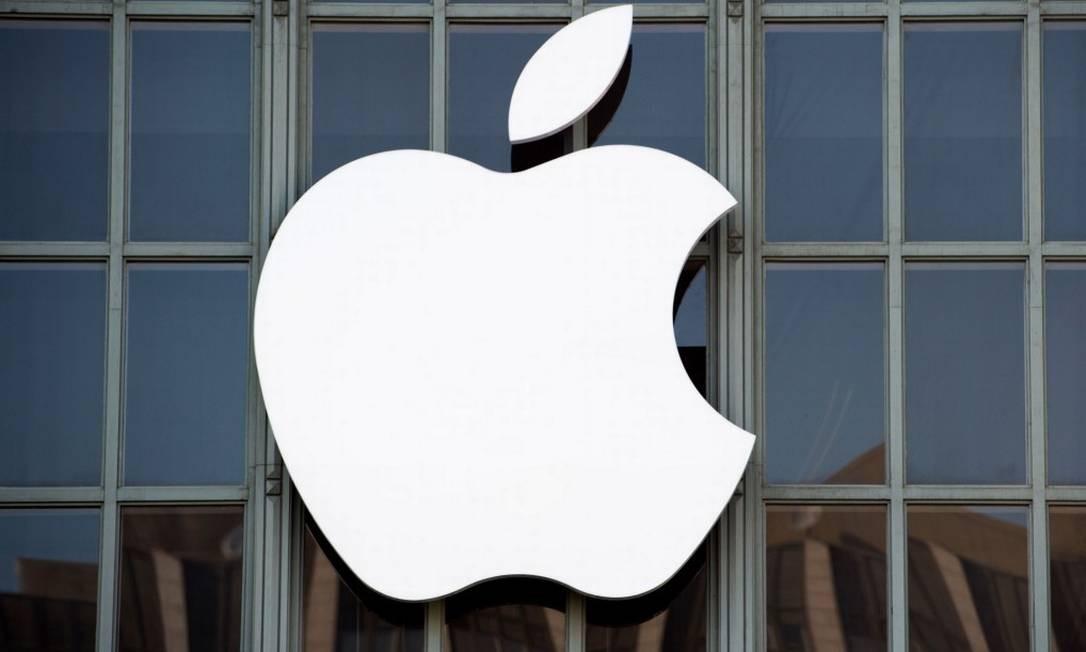 Apple é a primeira empresa dos EUA a atingir US$ 1 trilhão de valor de mercado Foto: JOSH EDELSON / Josh Edelson/AFP