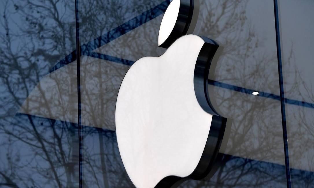 Apple foi a primeira empresa a atingir US$ 1 trilhão em valor de mercado Foto: Emmanuel Dunand / AFP