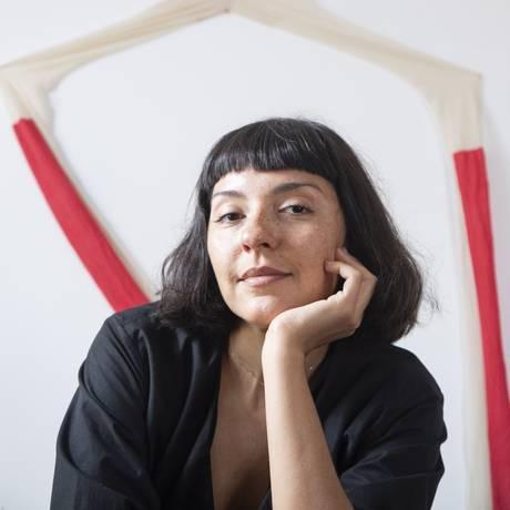 A designer Bruna Pegurier Foto: Ana Branco / Agência O Globo