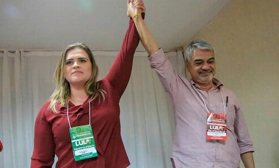 Candidatura de Marília Arraes é aprovada em encontro do PT de ...