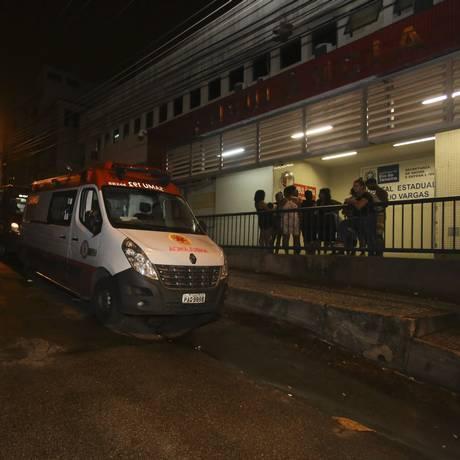 Hospital Getúlio Vargas, na Penha, onde a paciente Irene de Jesus Bento, de 54 anos, morreu no fim de semana, após de ter o atendimento negado na emergência Foto: Fabio Gonçalves / Agência O Globo