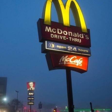 Problema aconteceu em drive-trhu do McDonald's na província de Alberta Foto: ROGAN WARD