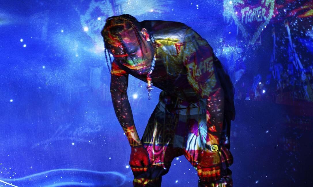 O rapper americano Travis Scott Foto: David La Chapelle / Divulgação