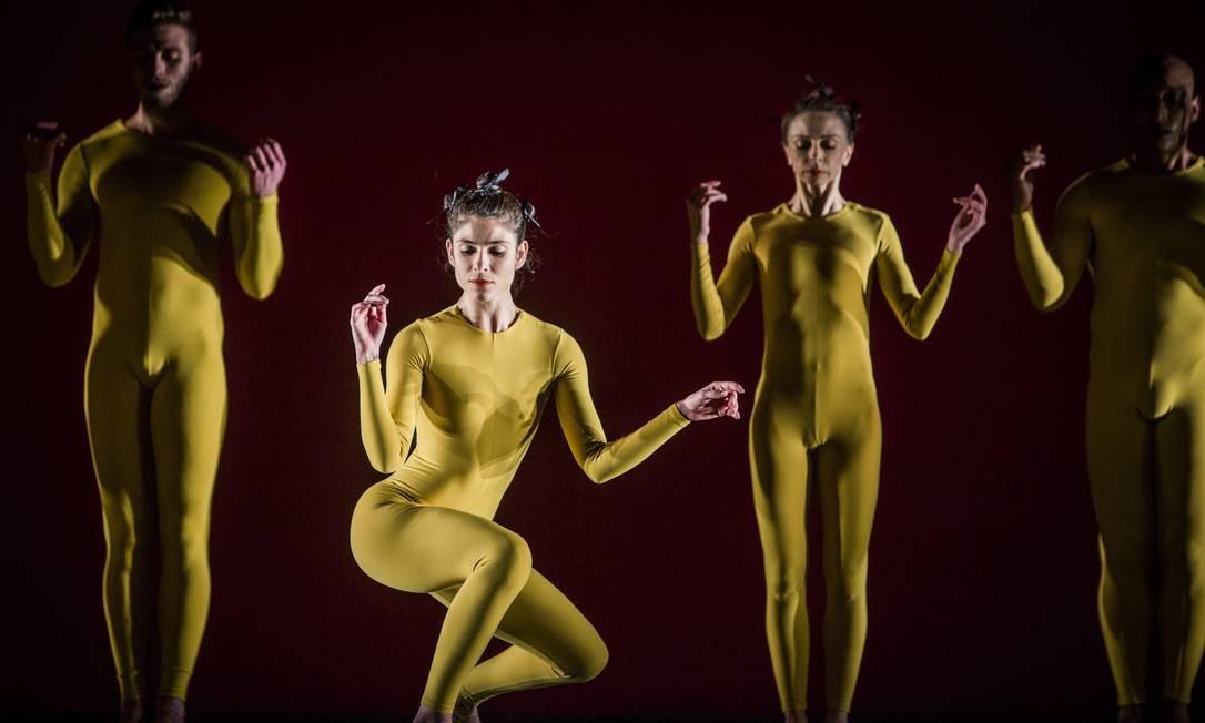 A coreografia é assinada por Rodrigo Pederneiras Foto: Anna Carolina Negri / Agência O Globo
