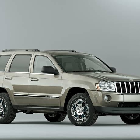 Jeep Cherokee, modelo 2005: proprietários podem agendar substituição da peça a partir de segunda-feira, dia 6 Foto: Divulgação
