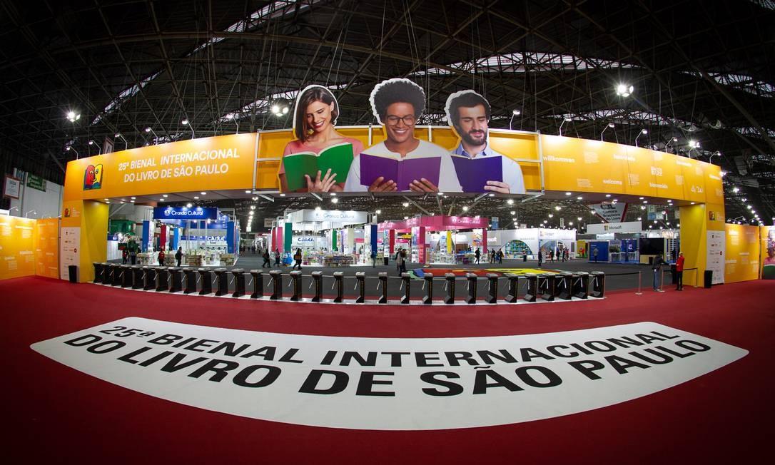 Bienal do Livro em SP dá a largada com atrações nacionais e estrangeiras -  Jornal O Globo