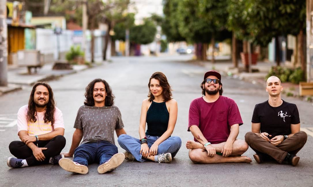 Carne Doce lança 'Tônus', seu terceiro álbum Foto: Bárbara Lopes / Agência O Globo