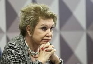 A senadora Martha Suplicy Foto: Marcelo Camargo / Agência Brasil