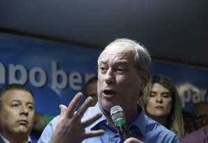 Presidenciável do PDT Ciro Gomes Foto: Antonio Scorza / Antonio Scorza